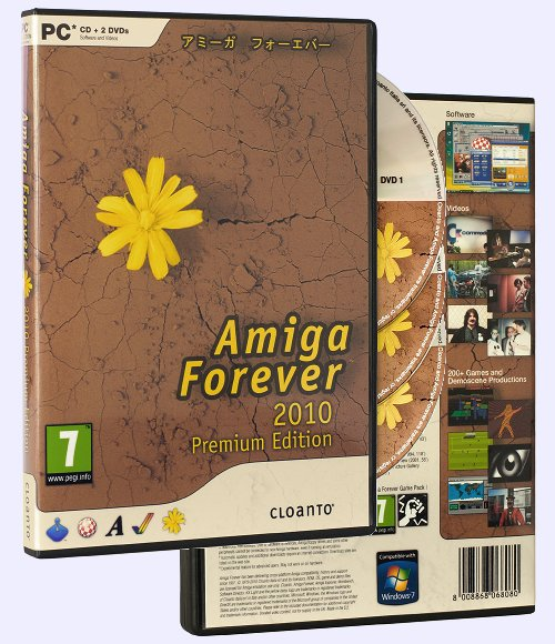 Amiga Forever 2010 Premium Edition - Produktinformation